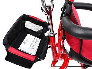 Трехколёсный велосипед для детей, красный, XG18919-T12-3, фото