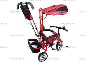 Трехколёсный велосипед для детей, красный, XG18919-T12-3, магазин игрушек