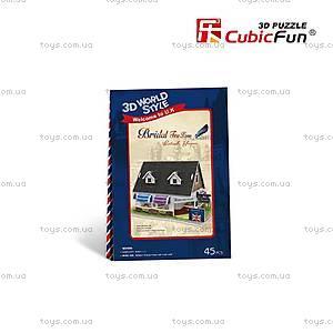 Трехмерная головоломка «Англия. Свадебный чайный домик», W3105h, купить