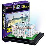 Трехмерная головоломка-конструктор Белый дом LED, CubicFun (176642), L504h, отзывы