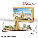 Трехмерная головоломка-конструктор «CITY LINE BARCELONA», MC256h, купить