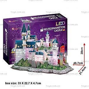 Трехмерная головоломка-конструктор CubicFun «Замок Нойшванштайн LED», L174h