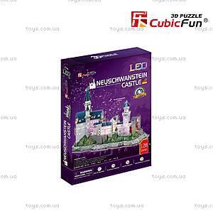 Трехмерная головоломка-конструктор CubicFun «Замок Нойшванштайн LED», L174h, отзывы