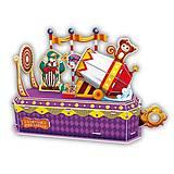 Трехмерная головоломка-конструктор «Цирк Клоун-трюкач», K1303h, отзывы