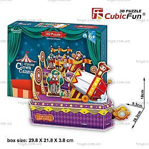 Трехмерная головоломка-конструктор «Цирк Клоун-трюкач», K1303h, купить