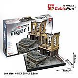 Трехмерная головоломка-конструктор «Немецкий Тигр 1», JS4201h