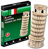 Трехмерная головоломка-конструктор «Пизанская башня», серия мини, S3008h, фото