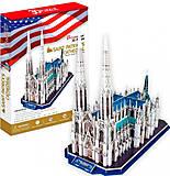 Трехмерная головоломка-конструктор «Собор Святого Патрика (США)», MC103h, купить