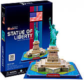 Трехмерная головоломка-конструктор «Статуя Свободы (США)», C080h, фото