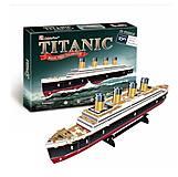 Трехмерная головоломка-конструктор «Титаник», T4012h, отзывы