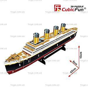 Трехмерная головоломка-конструктор «Титаник», T4012h, фото