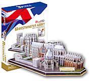 Трехмерная головоломка-конструктор «Вестминстерское аббатство (Великобритания)», MC121h, фото