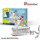 Трехмерная головоломка-конструктор «Игрушечній Дом», P693h, купить