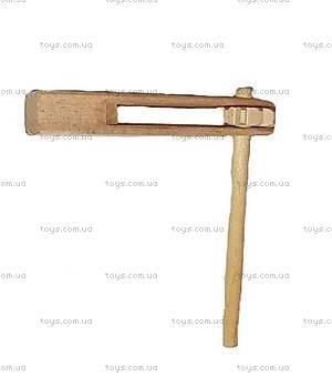 Деревянная игрушка «Трещетка», 150-01-041