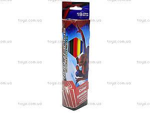 Треугольные цветные карандаши, 18 штук, SM4U-12S-3P-18