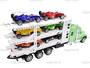 Трейлер-автовоз для детей, 56708, отзывы