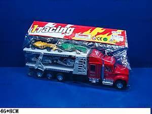 Трейлер-автовоз, инерционный, 56715