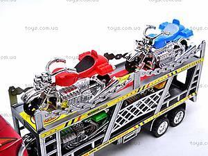 Трейлер блистер с мотоциклами, HY8756-5, фото