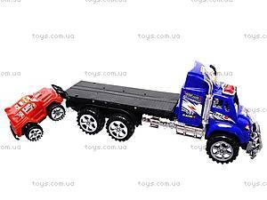 Трейлер детский с машинками, 9050-1A, купить