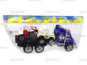 Трейлер детский с машинками, 9050-1A