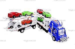 Трейлер и 8 машин, 318-5, купить