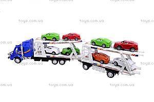 Трейлер и 8 машин, 318-5, фото