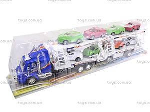 Трейлер и 8 машин, 318-5