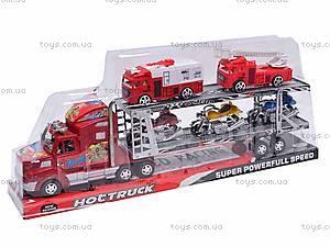 Трейлер и две пожарных машинки, 520-2, отзывы