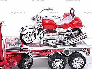 Трейлер инерционный с двумя мотоциклами, 3268-43, отзывы