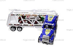 Трейлер инерционный с тракторами, 780-23, фото