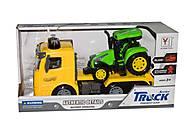 Трейлер КамАЗ с трактором, SPL301701, отзывы