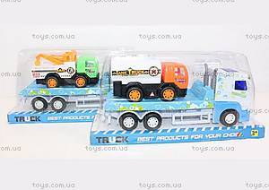 Трейлер с грузовиком инерционный, 888В-2