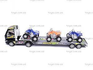 Трейлер с квадроциклами, DX606-5, купить