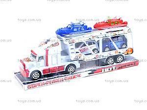 Трейлер с машинами и катерами, 3011-5