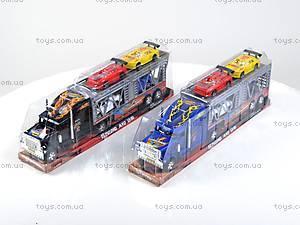 Трейлер с машинками, 877-23