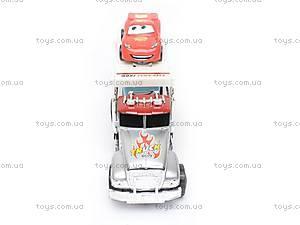 Трейлер с машинками «Тачки», 0009-9A, купить