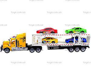 Трейлер с машинками для детей, 9070-24A, купить