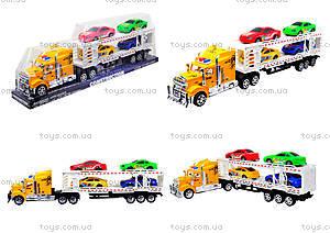 Трейлер с машинками для детей, 9070-24A