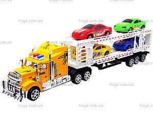 Трейлер с машинками для детей, 9070-24A, цена