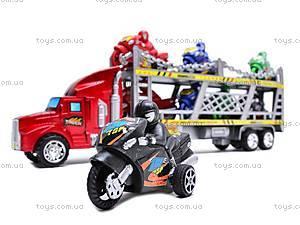 Трейлер с мотоциклами, HY8756-4, купить