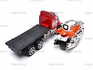 Трейлер с мотоциклом для детей, 9050-8A, купить
