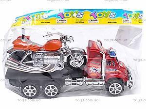 Трейлер с мотоциклом для детей, 9050-8A, отзывы