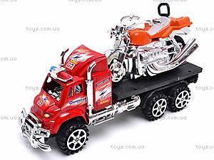 Трейлер с мотоциклом для детей, 9050-8A