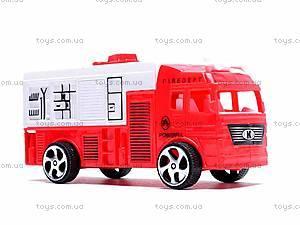 Трейлер с пожарной машиной, 9050-40, фото