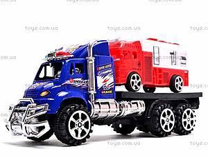 Трейлер с пожарной машиной, 9050-40