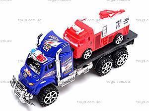 Трейлер с пожарной машиной, 9050-40, цена