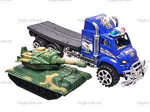 Трейлер с танком, 9050-35