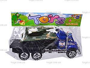 Трейлер с танком, 9050-35, фото