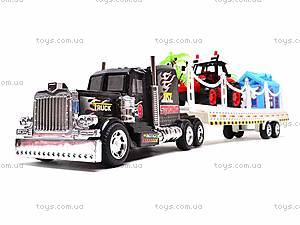 Трейлер с трактором, 2011-8, цена