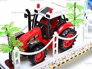 Трейлер с трактором, 2011-8, детские игрушки